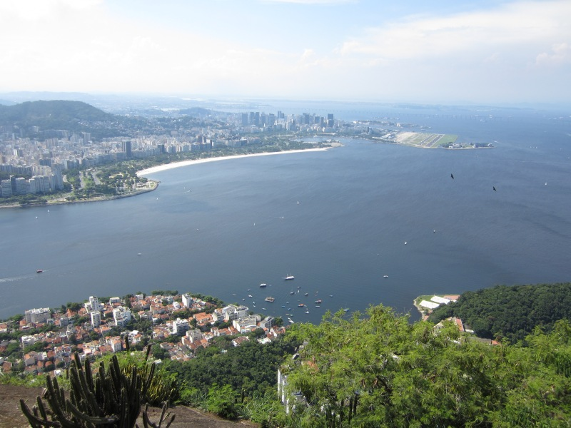 Image of view from Sugarloaf Mountain